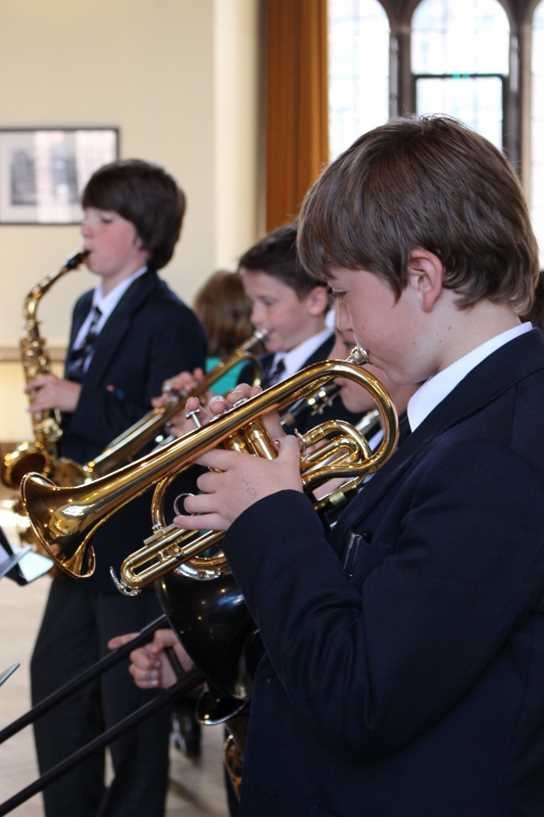 The Wind Band's performance of 'Barbara Ann'