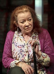 Foreign correspondent Verity Stokes, played by Clare Higgins