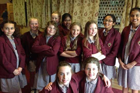 The group of Year 5 pupils who attended the AJIS Sings! event