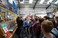 Pupils learnt a lot from their visit to the Lyon Equipment factory