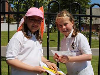 Enjoying orienteering