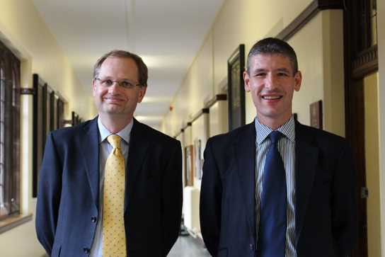 Headmaster Mr Britton with guest speaker Mr Giles Lever, the British Ambassador to Vietnam and an Old Boy of the School