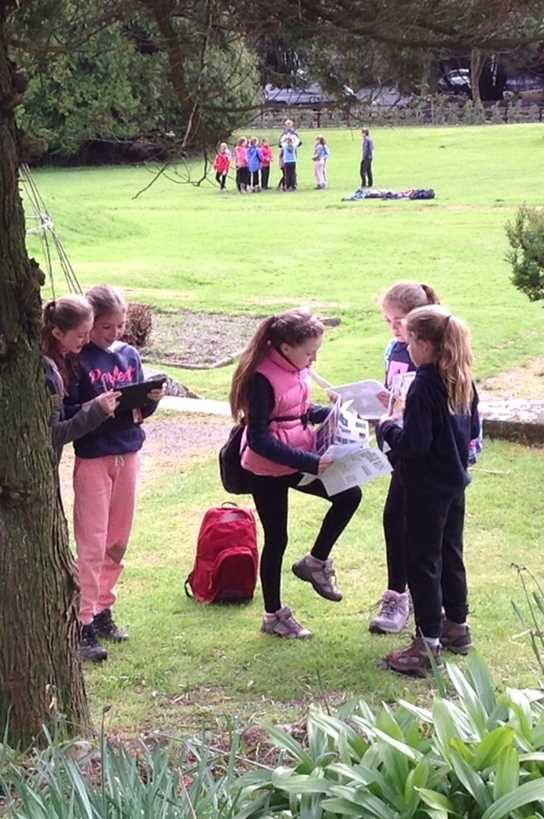 Discovering the outdoors in the grounds of Patterdale Hall
