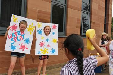 Year 6 girls sacrifice their dignity in the name of fundraising