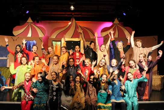 The cast did an incredible job of bringing the tales of One Thousand and One Nights to life