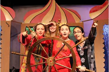 Es-Sindibad's story sent the audience on a fantastical voyage