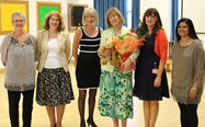 Mrs Northin receives best wishes