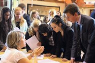 Pupils found out about a variety of volunteering opportunities