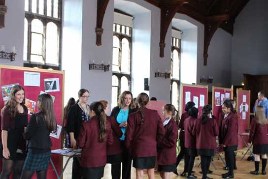 The Great Hall was bustling as girls considered their options