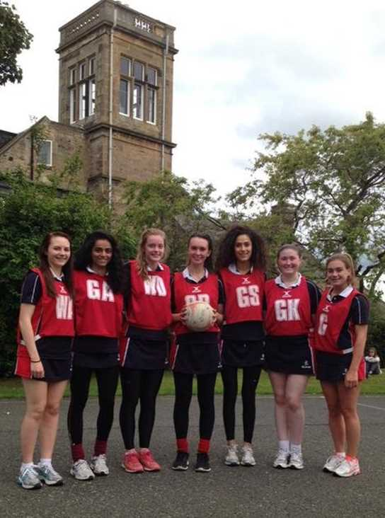 The Netball team at St George's