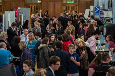 Hundreds of young people attended the Convention in 2013