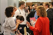 Visitors also received great advice from a range of professions