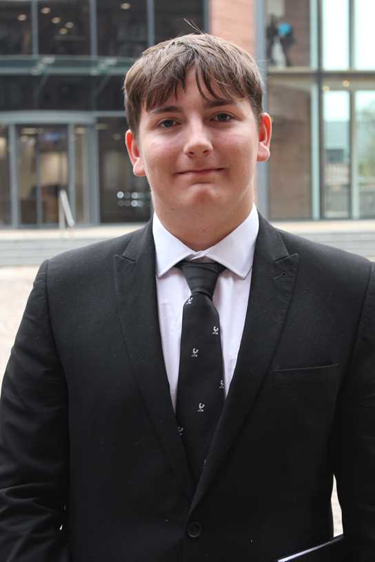 Oliver has won the Bolton News's Secondary School Pupil of the Year Award