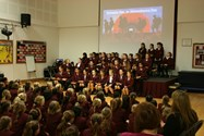 A whole school assembly paid tribute to those who made the ultimate sacrifice