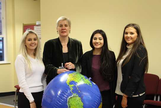 Sixth Form Historians were delighted to learn from Tanya Landman