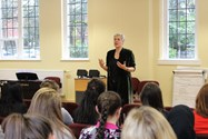 Ms Landman delivered a powerful and fascinating lecture