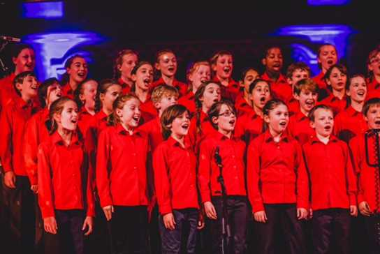The Halle Children's Choir opened the evening