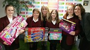 The girls are hoping to be able to donate lots of toys to the Cash for Kids appeal