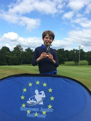 He also claimed the U10 Regional Winner trophy at the European Junior Golf Tour