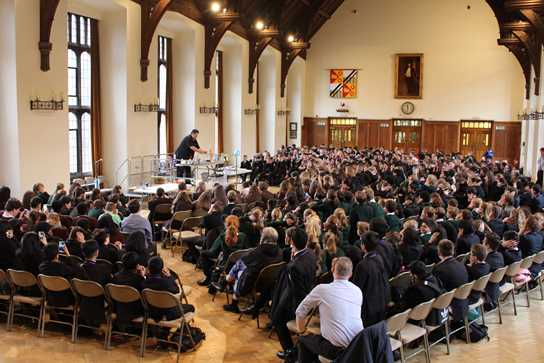Over 900 pupils attended the event from 18 schools