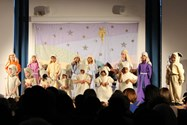 The children put on a lovely show