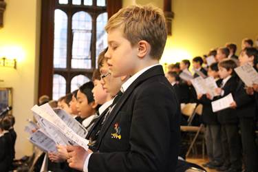 Various choirs sang beautifully during the Carol Service
