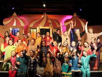 The cast of Arabian Nights brought the stories to life