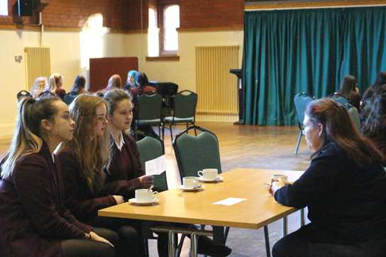 Eraina Smith discusses her work with Girls' Division pupils
