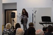 Ella read a captivating extract from her Great Grandmother