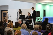 "Year 13 student Riya sang a beautiful version of ""Where Corals LIe"" and Matthew from Year 12 opened the event with ""I Believe in the Sun"""