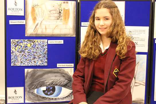 Ella was also one of the School's featured artists