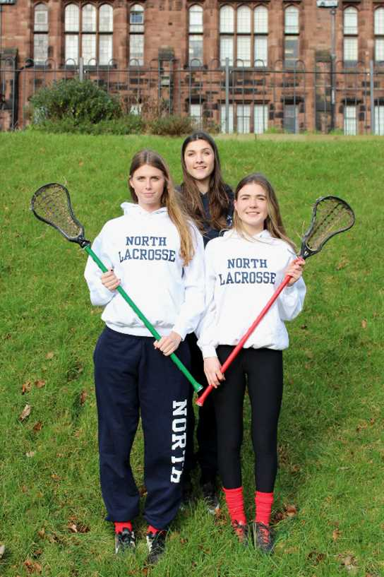 Molly, Georgina and Louisa were all selected for the North of England squad