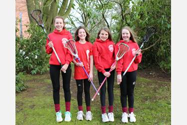 Ellie, Abigail, Arabella and Mia have been selected for the Lancashire U13 Lacrosse Squad