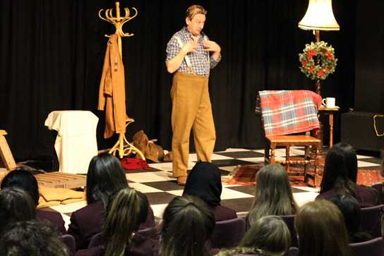 An enlightening questions and answers session after the play shed further light on the Great War