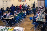 The chess tournament took place in the Junior Boys