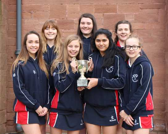 The Year 10 Netball Team