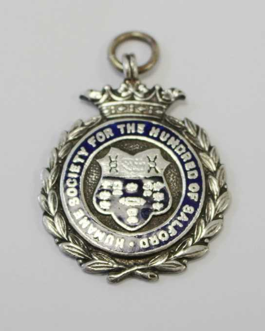 Joan's Salford 100s Lifesaving medal from 1947