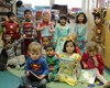 The children loved finding out about each other's books