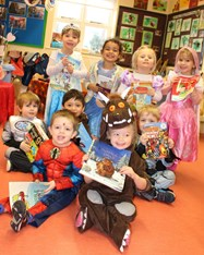 The Butterflies and Caterpillars shared their favourite books