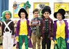 Characters from Roald Dahl's 'Charlie and the Chocolate Factory'