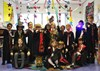 Children transfigured into Hogwarts students for the day