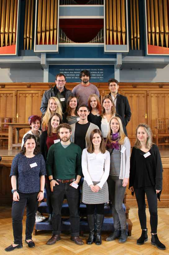 The UCL neuroscientists who ran the workshops