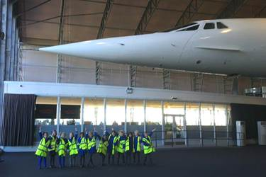 Concorde was one of the highlights of the visit