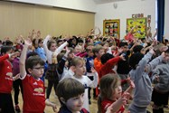 All of the children enjoyed dancing for Sport Relief