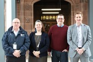 Some of the Careers Afternoon speakers: Graham Clayborough, Eraina Smith, Chris Norman and Rob Nugent