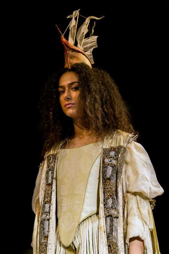 The spirit of Helen of Troy was summoned as part of the play