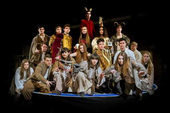 The Cast of Doctor Faustus