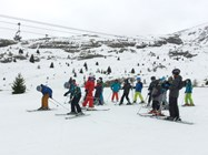 The Junior Boys on the slopes