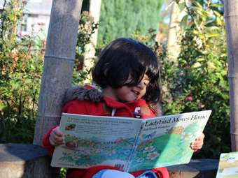 Reading in the 'Secret Garden'