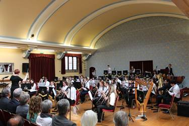 The Senior Concert Band performing three movements of Riverdance